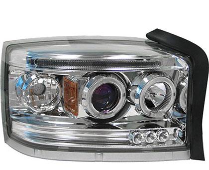 Dodge Dakota 05 09 Headlamps